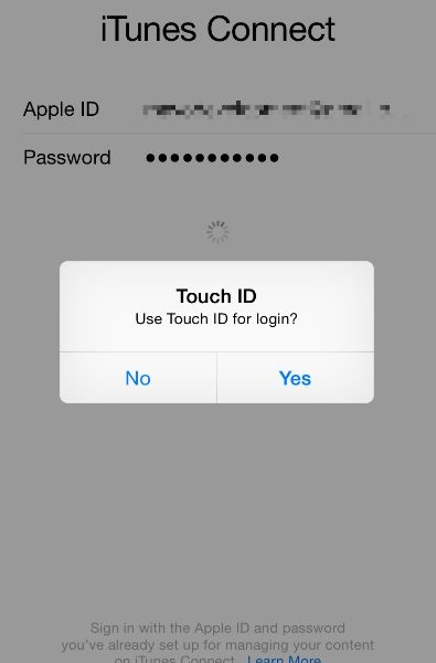 itunes login page